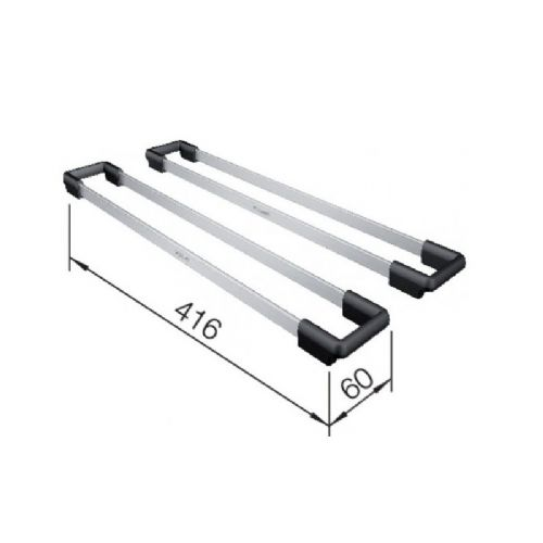 Blanco Stainless Steel Top Rails - 235906